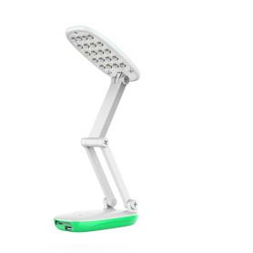 Лампа настольная светодиодная аккумуляторная Старт СТ82, цвет зелёный