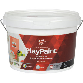 Краска для стен Parade DIY 7 PlayPaint база A 2.5 л