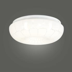 Светильник настенно-потолочный светодиодный «Паутина», 8 м², белый свет, цвет белый/серебристый