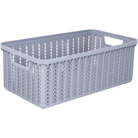Коробка для хранения «Вязание», 3 л, цвет серый