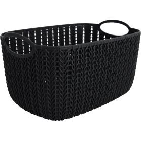 Корзинка для хранения «Вязание», 4 л, цвет графит