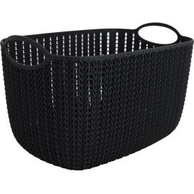 Корзинка для хранения «Вязание», 7 л, цвет графит