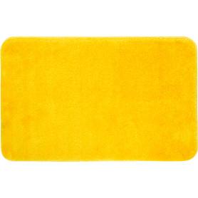 Коврик для ванной комнаты Bade 50х80 см цвет лимонный