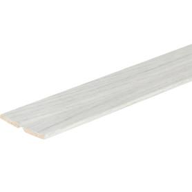 Уголок МДФ универсальный Дуб бриг серый 24x24x2600 мм