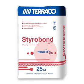 Штукатурно-клеевая смесь цементная Terraco Styrobond DP EIFS 25 кг