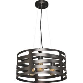 Светильник подвесной Laurel, 3 лампы, 12 м² цвет чёрный