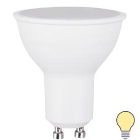 Лампа светодиодная GU10 230 В 8 Вт спот 700 лм, тёплый свет