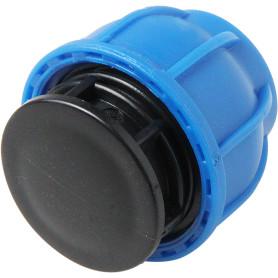 Заглушка цанговая для полиэтиленовой трубы, 25 мм, полиэтилен