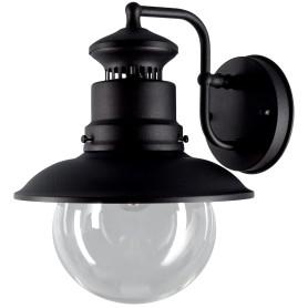 """Светильник настенный уличный Elektrostandard """"Talli"""" 60 Вт, IP44 цвет чёрный"""