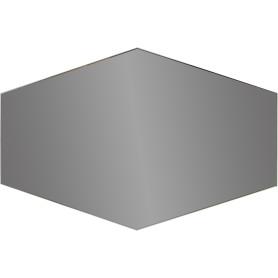 Плитка зеркальная Mirox 3G шестигранная 30x20 см цвет графит