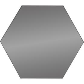Плитка зеркальная Mirox 3G шестигранная 20x17.3 см цвет графит
