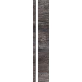 Угол для шкафа Delinia «Сосна лофт» 4x70 см, ЛДСП, цвет чёрный