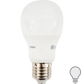 Лампа светодиодная Е27 220 В 5.5 Вт груша 470 лм, холодный свет