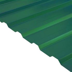 Профнастил С20 0.45 мм 1150х2000 мм зелёный RAL 6005