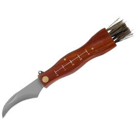 Нож грибника малый, деревянная рукоятка