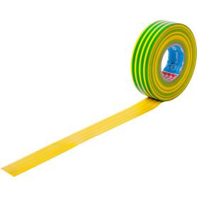 Изолента Tesa ПВХ 19 мм 20 м цвет жёлтый/зелёный