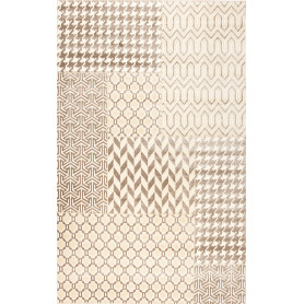 Ковёр Relief 40151/67, 1.6х2.3 м, цвет серый