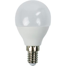 Лампа светодиодная Bellight E14 220-240 В 6 Вт шар 480 лм, тёплый белый свет