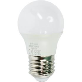 Лампа светодиодная Bellight E27 220-240 В 6 Вт шар 480 лм, тёплый белый свет