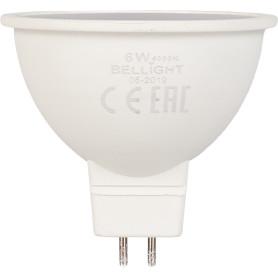 Лампа светодиодная Bellight GU5.3 220-240 В 6 Вт 420 лм, белый свет