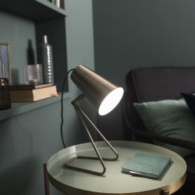 Настольная лампа «Moeta», цвет античная бронза