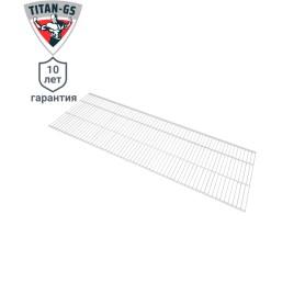 Полка сетчатая Титан-GS 1203х406 мм цвет белый