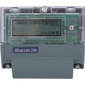 Счетчик электроэнергии Меркурий 200.02, однофазный