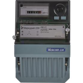 Счетчик электроэнергии Меркурий 230 АМ-01, трёхфазный
