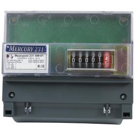 Счетчик электроэнергии Меркурий 231 АМ-01, трёхфазный
