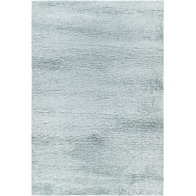 Ковёр «Шагги Тренд» L001, 0.6х1.1 м, цвет голубой