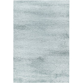 Ковёр «Шагги Тренд» L001, 0.8х1.5 м, цвет голубой