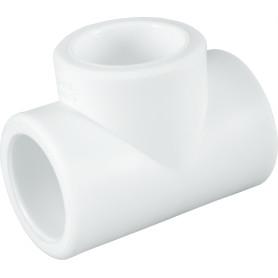 Тройник ⌀32 х 32 х 32 мм полипропилен