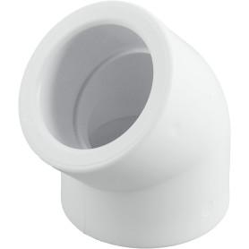 Угол 45° ⌀40 мм полипропилен