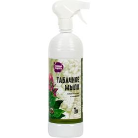 Средство от вредителей садовых растений «Табачное мыло» 1 мл