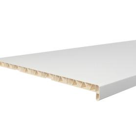 Подоконник ПВХ 1500х600 мм, цвет белый