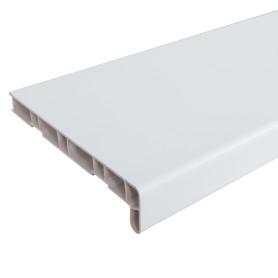 Подоконник ПВХ 3000х200 мм, цвет белый
