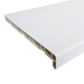 Подоконник ПВХ 3000х300 мм, цвет белый