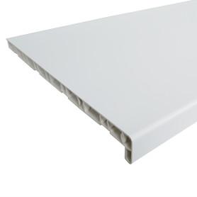 Подоконник ПВХ 3000х400 мм, цвет белый