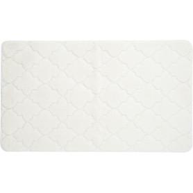 Коврик для ванной «Лана» 70х120 см цвет белый