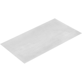 Лист декоративный ПВЛ TR10 0.8х250х500 мм, алюминий, цвет белый