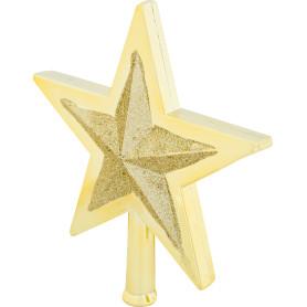 Верхушка для ёлки «Звезда», 25.5 см, пластик