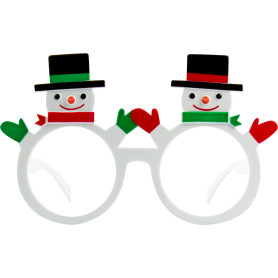 Очки маскарадные «Снеговики»