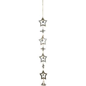Гирлянда «Звёзды и колокольчики» 85 см