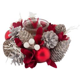 Украшение «Подсвечник рождественский» 18 см