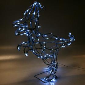 Электрогирлянда-фигура светодиодная «Динозавр» для улицы 120 ламп, цвет холодный белый
