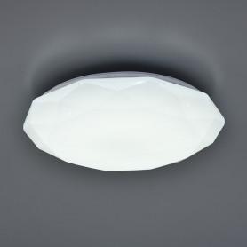 Светильник настенно-потолочный светодиодный Polaris с пультом управления, 40 м², регулируемый свет, цвет белый