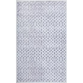 Ковёр «Рим» 722W, 1.6х2.35 м, цвет светло-серый