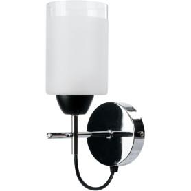 Настенный светильник Mekka 1257/1W, цвет чёрный/хром