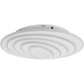 Люстра потолочная светодиодная Xiatar, 30 м², регулируемый белый свет, цвет белый