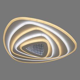 Люстра потолочная светодиодная Zengo 160 Вт, 30 м², регулируемый свет, цвет белый